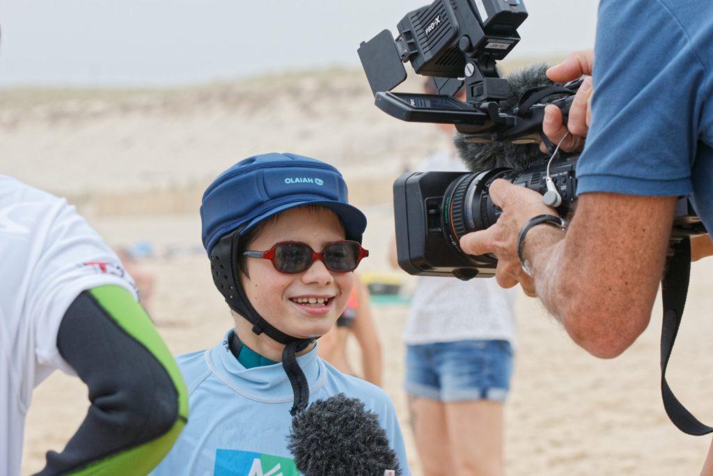 Interview également de See Surfeurs comme par exemple Johnny qui a pris plaisir à être interviewé.